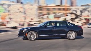 2016 Cadillac CT6 - Footage. YouCar Car Reviews.