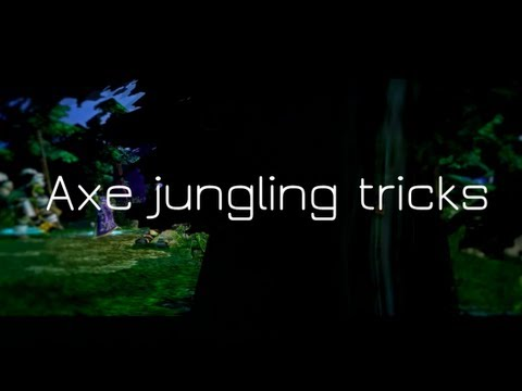 DotA Axe jungle guide [jungle tricks]