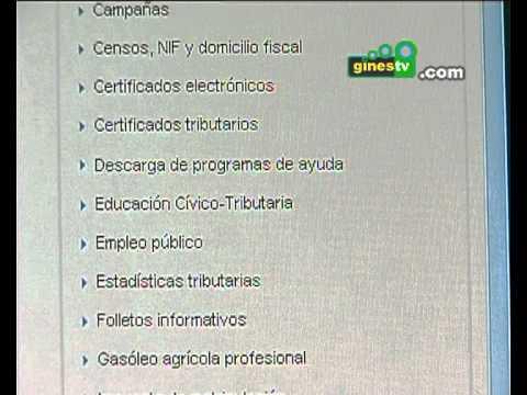 El centro Guadalinfo de Gines te ayuda en la solicitud y consulta del borrador  la Renta 2011