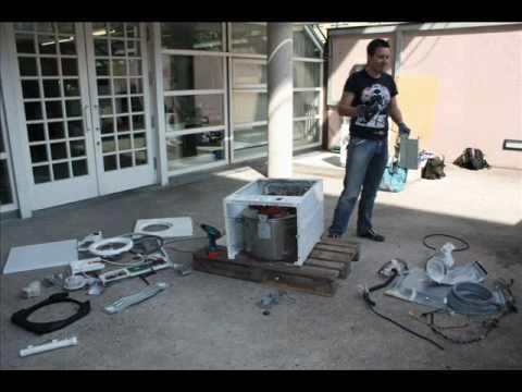 zerlegung einer waschmaschine hochschule rosenheim youtube. Black Bedroom Furniture Sets. Home Design Ideas