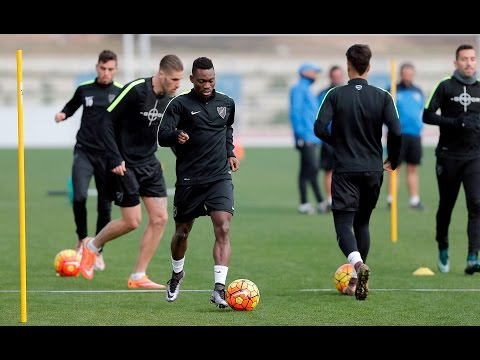 Video: Ghana winger Christian Atsu trains with Spanish side Malaga for the first time