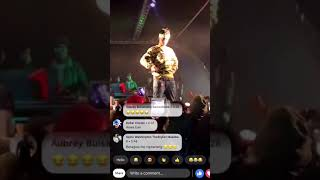 MUST WATCH: EMTEE Falls on Stage Performing.