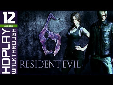 Resident Evil 6 Walkthrough - PART 12 | Leon & Helena (Chapter 4 Derek Simmons)