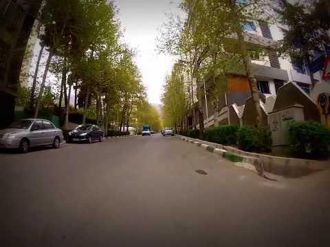 Tehran/Iran street view gopro