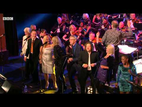 The BBC Radio 2 Presenter Choir perform 'Dancing Queen' (2DAY 2013)