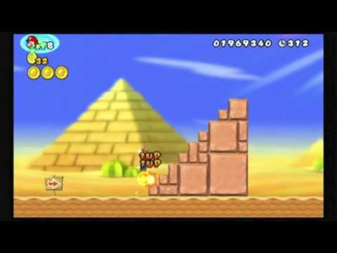 NEWスーパーマリオブラザーズ Wii 無限1UP Super Mario Bros Unlimited 1ups