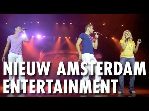 Nieuw Amsterdam Review & Tour: Entertainment ~ Holland America Line ~ Cruise Ship Review & Tour