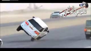 Árabes locos al volante