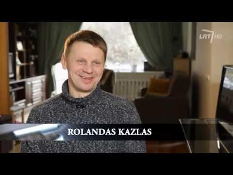 Asmeninį gyvenimą po devyniais užraktais saugantis Rolandas Kazlas atsivėrė (vaizdo reportažas)