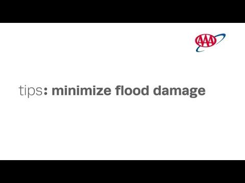 Tips to Minimizing Flood Damage