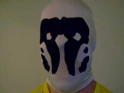watchmen rorschach mask how to make