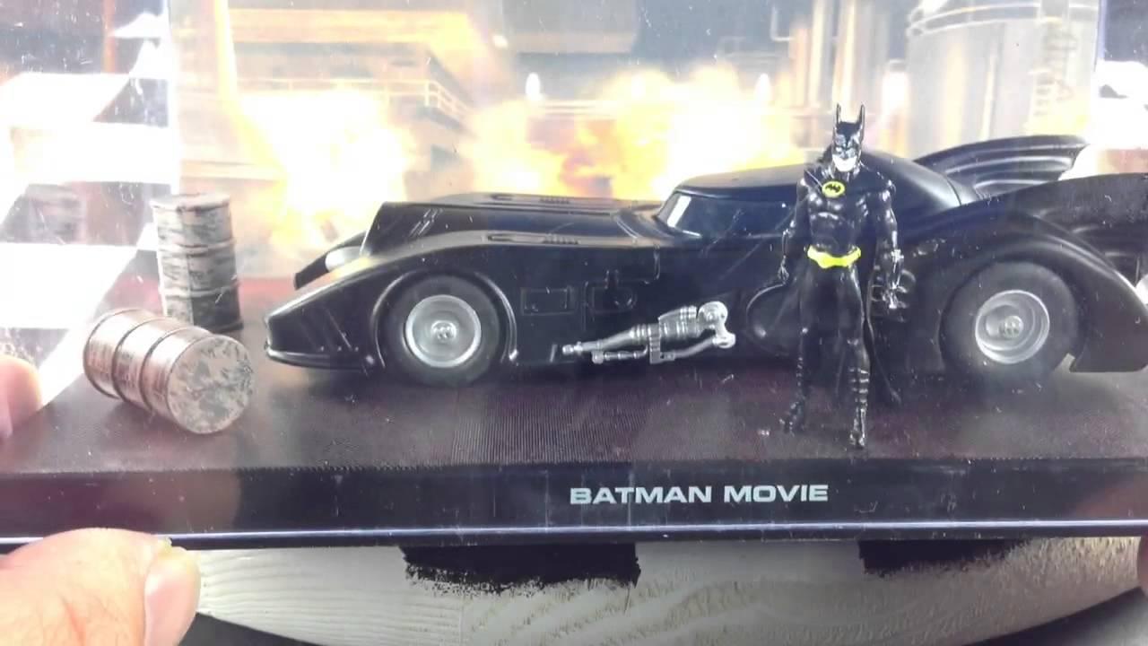 Eaglemoss Batman Automobilia #1 1989 Batmobile!!! - YouTube