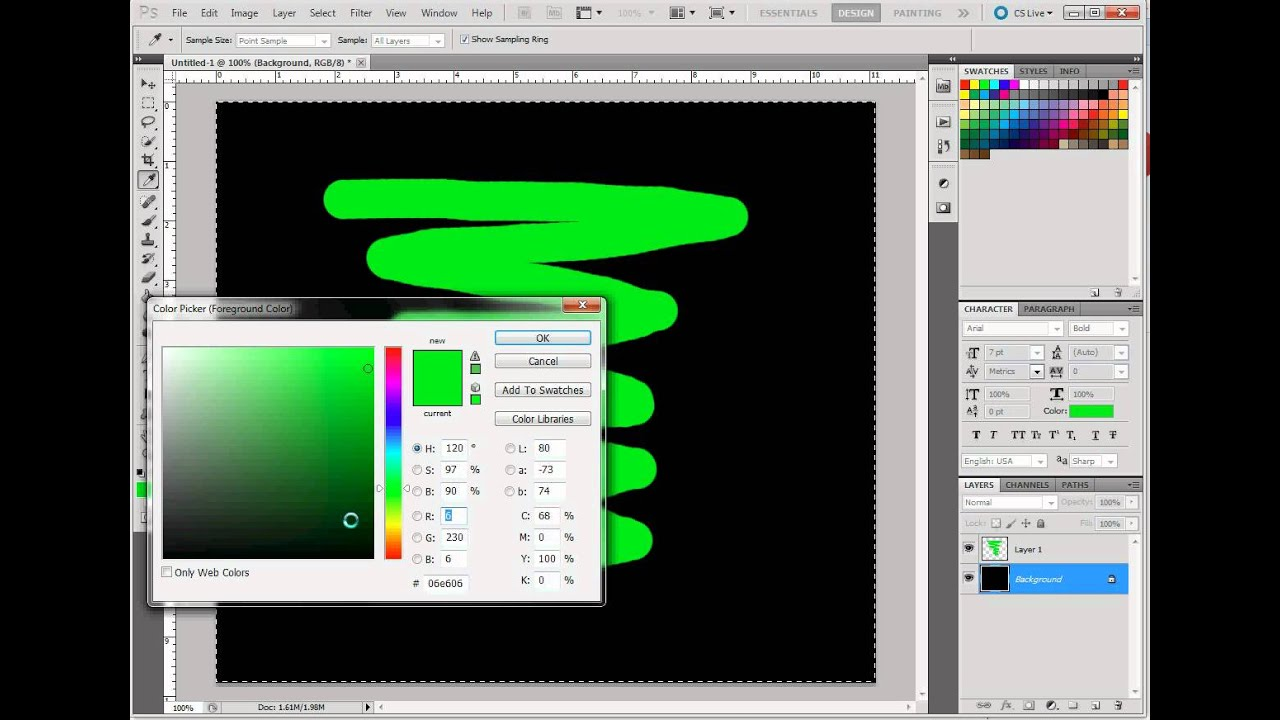 how to change colour of svg in photoshop