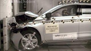 2014 Chevrolet Impala Frontal Crash Test By NHTSA