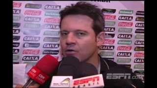 T�cnico do Figueirense, Argel, ironiza p�nalti a favor do Cruzeiro: