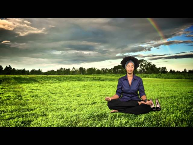 Meditate in a grassy field (with Mallika Chopra) | The Meditator Ep 44