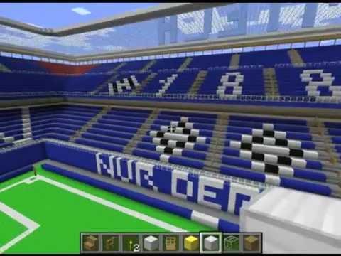 minecraft stadion hamburg imtech arena youtube. Black Bedroom Furniture Sets. Home Design Ideas