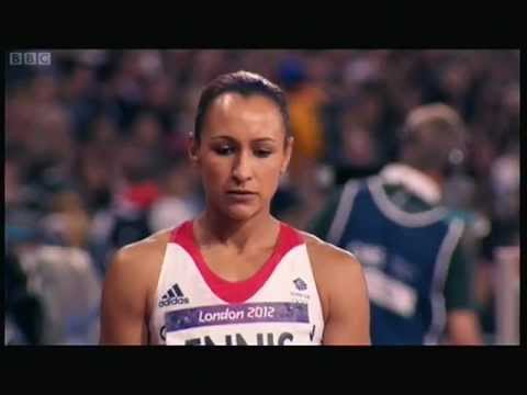 Jessica Ennis 2012 Olympics build up to 800m meters offical video