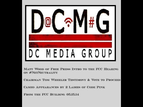 Matt Wood Intro of #NetNeutrality Hearing w/ FCC Chairman Wheeler full testimony