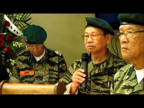 Lễ Phủ Cờ Cố Thiếu Tướng Bùi Thế Lân