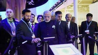TN - Modi In Paris : Narendra Modi Inaugurates India Pavilion