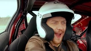 James McAvoy In The NEW Reasonably Fast Car - Top Gear. Watch online.