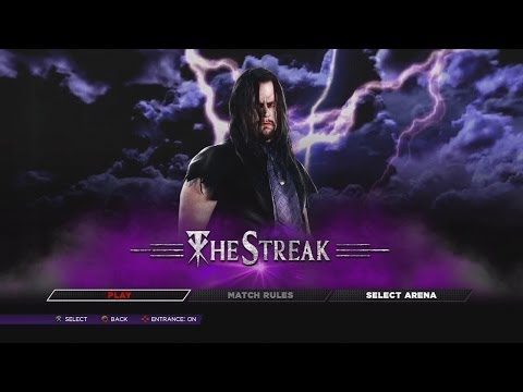 WWE 2K14 - Defend the Streak - Undertaker vs Everyone 67-0