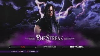 WWE 2K14 Defend The Streak Undertaker Vs Everyone 67-0