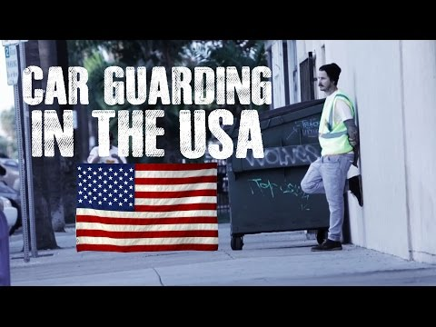 Car Guarding In The USA - Derick Watts & The Sunday Blues