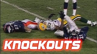 NFL Biggest Knockout Hits Ever (Brutal Hits)