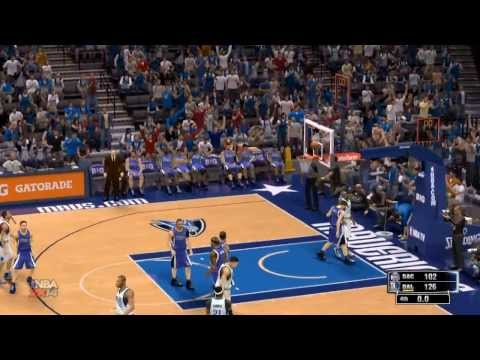 NBA 2k14 Dallas Mavericks vs Sacramento Kings Highlights Mavs Season game 48