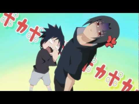 【Naruto】Sasuke hits Itachi 【ナルト】サスケがポカポカしてるだけ vers.