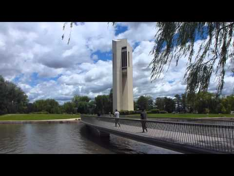 CANBERRA SCENERY TOURIST VIDEO