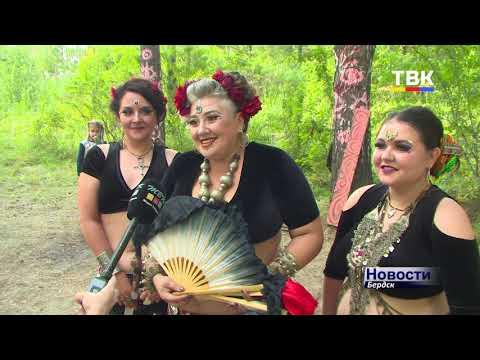 Открытый фестиваль транс-музыки «NEMO PHOENIX» в формате open-air прошел на лесной поляне возле бердского побережья