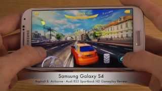 Asphalt 8: Airborne - Audi RS3 Sportback Samsung Galaxy S4 HD Gameplay Review