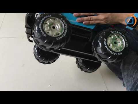 Hướng Dẫn Xe Điều Khiển Địa Hình Lội Nước YED1601 Amphibious 4WD Four Wheel Drive - Asun.vn