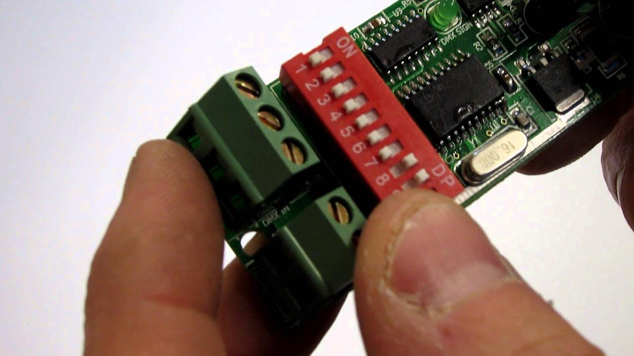 dumb basic rgb dmx controller 3 channel for led lights. Black Bedroom Furniture Sets. Home Design Ideas