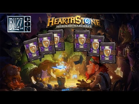 Hearthstone | 6 Pack Opening | Blizzcon | MaRliX