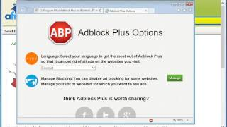 How To Disable Adblock Plus Internet Explorer