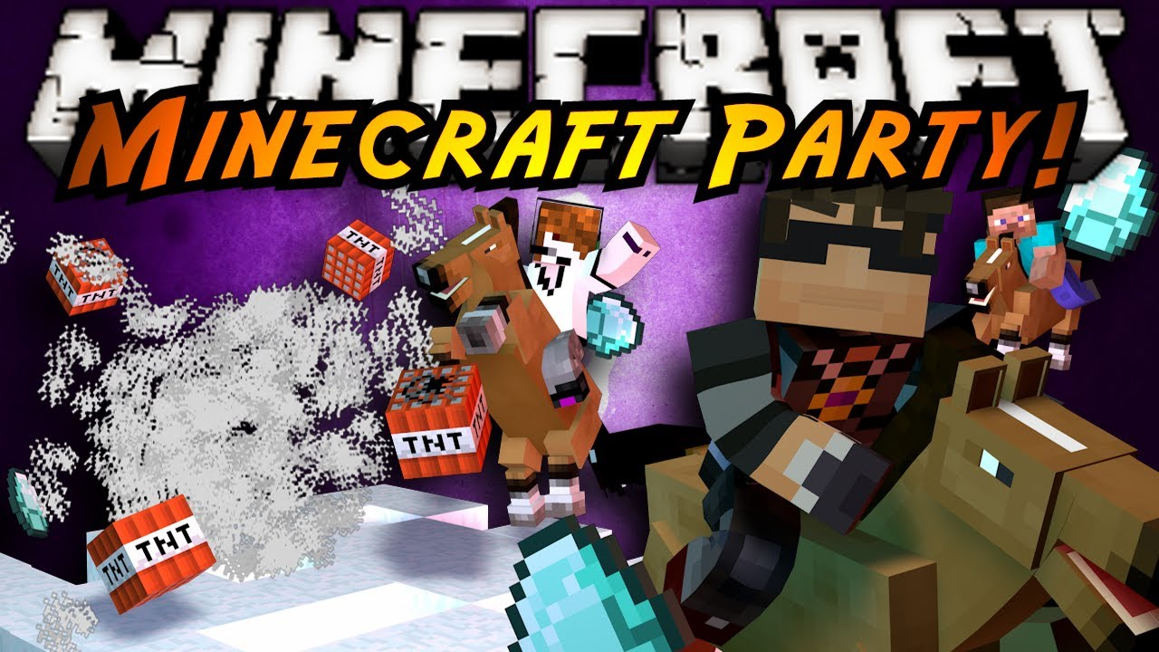 minecraft mini-game : <b>mınecraft</b> party!