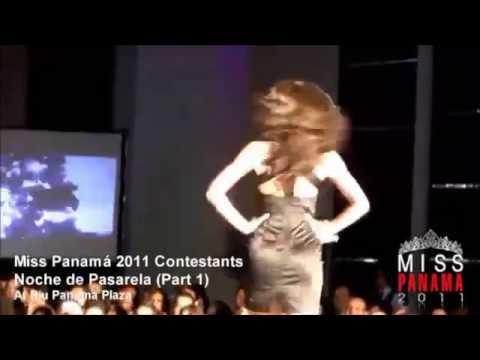 MISS PANAMA 2011,PASARELA,KEITY,IRENE Y SHELDRY.ARRECHAS.