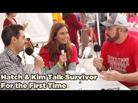 Richard Hatch and Kim Spradlin Talk Survivor for the First Time