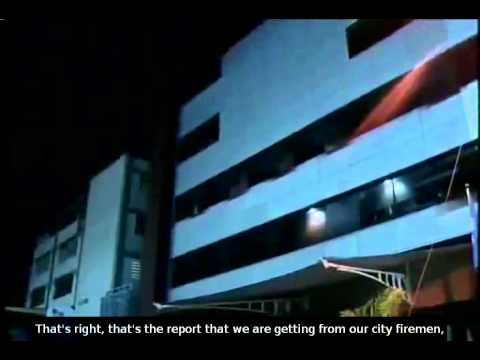 Fire at the TeleSUR network in Caracas