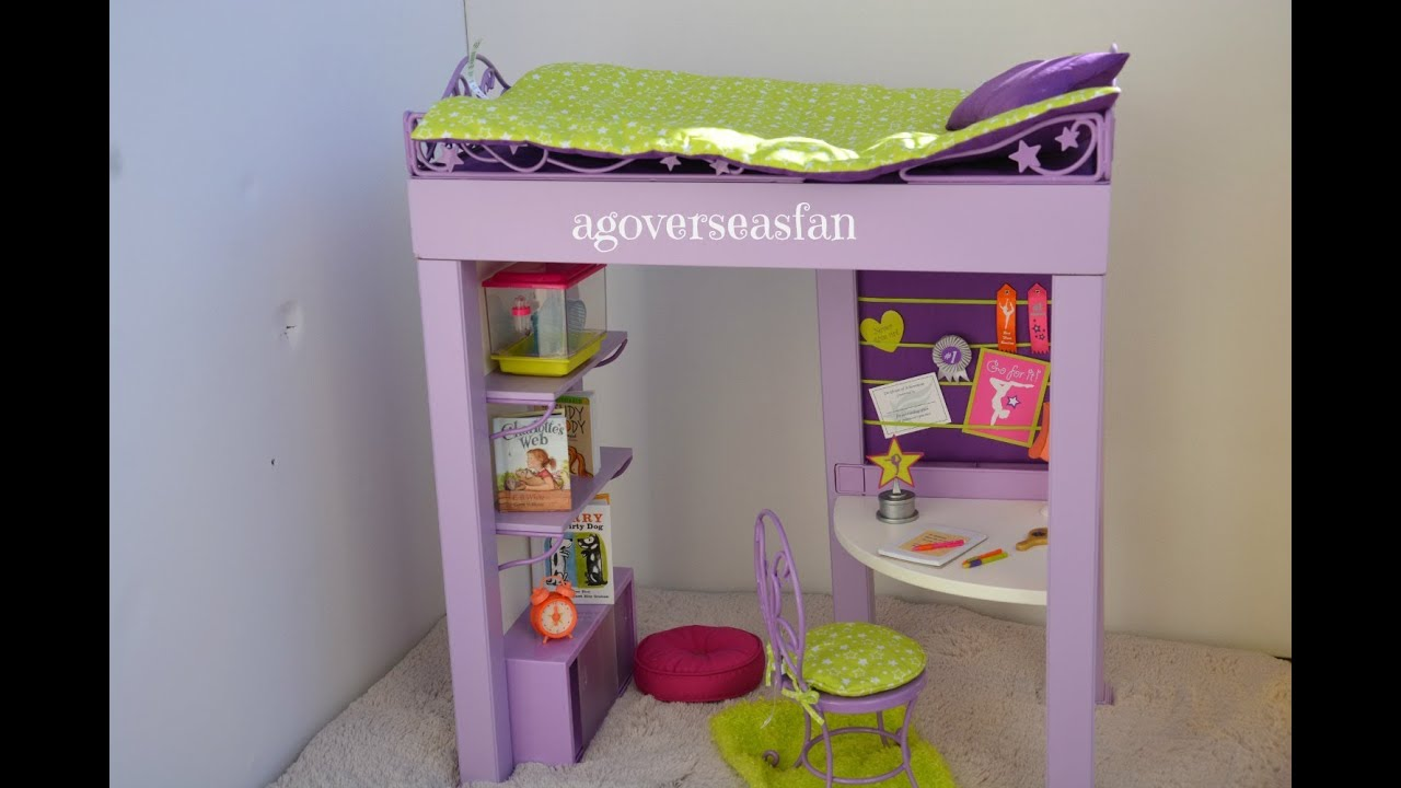 American Girl Doll Mckenna Bunk Bed