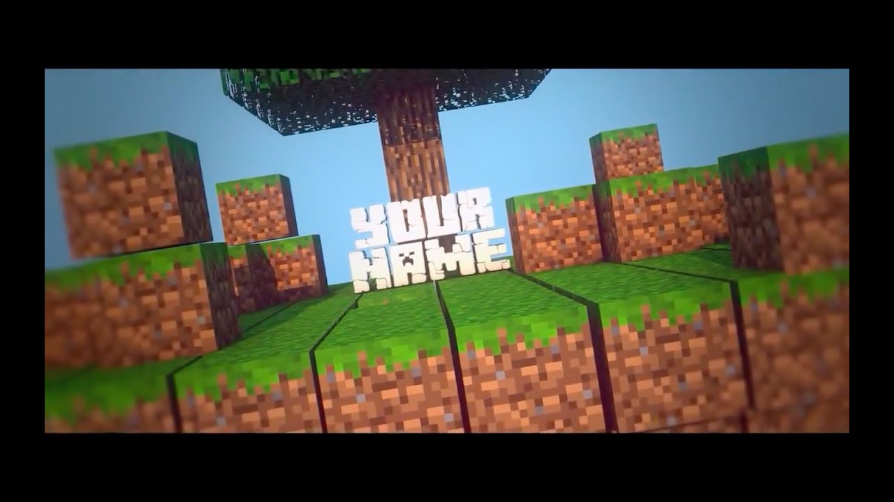 Free Intros Templates | Top 20 Free Minecraft Intro Templates Sony Vegas After Effects