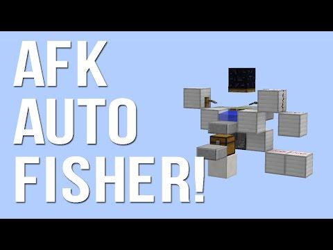 Minecraft AFK Fish Farm WORKS IN 1.11.2!!