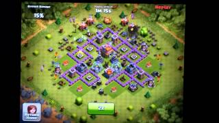 Clash of Clans Town Hall Level 7 Funnel Defense - Mortar Focus