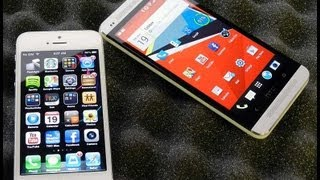 HTC One Vs. IPhone 5