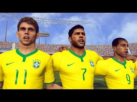18/11/2016 - Revanche: Brasil Vs Alemanha - Pro Evolution Soccer 2015 - PES 2015 (PS4)