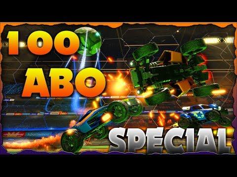 100 ABO SPECIAL! ☆ Rocket League ☆ Best Goals ☆ [Gameplay German Deutsch]